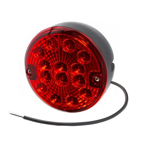 Kulatý mlhový LED světlomet Luminex