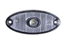 Poziční světlo FlatPoint II s kabelem, čirý