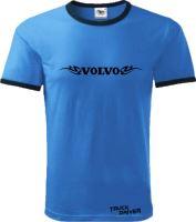 Tričko VOLVO s lemem, modré
