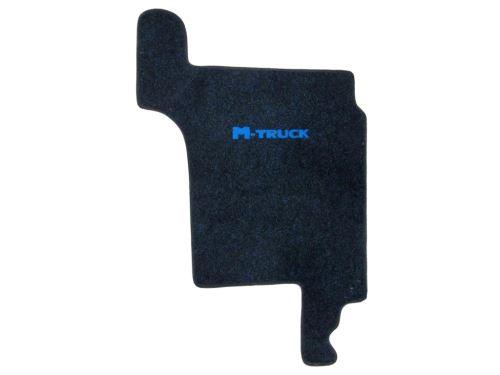 Středový koberec MAN TGX, manual, modrý