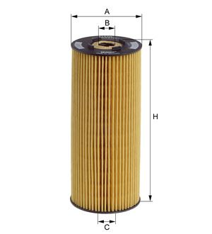 Olejový filtr HENGST E197H D23