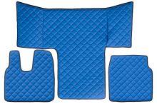Kožené koberce MAN TGL / TGM /TGS, modré