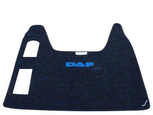 Stredový koberec DAF XF95, automat, modrý