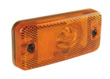Poziční světlo DAF/ RVI / Iveco Daily, žárovkové oranžové